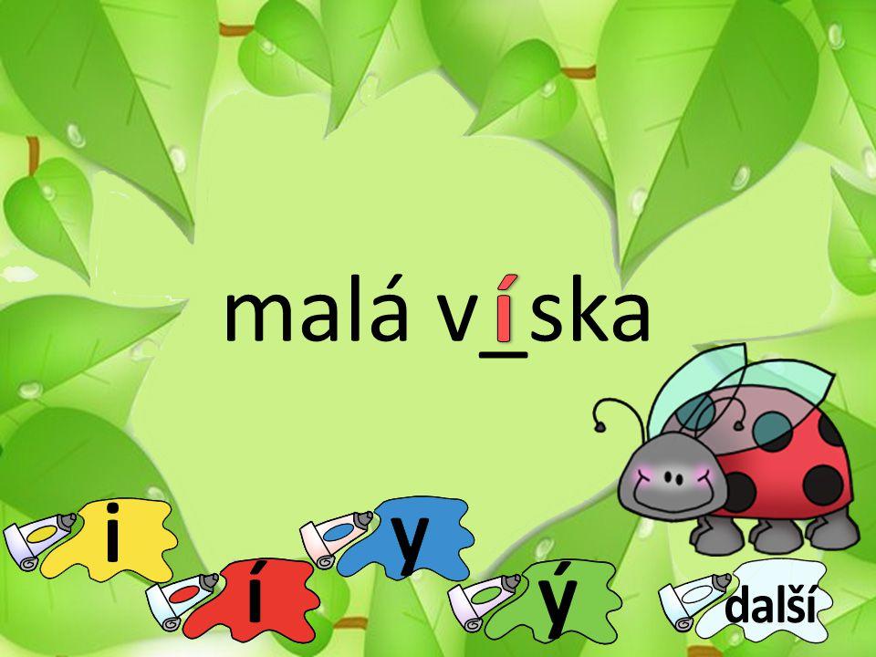 malá v_ska