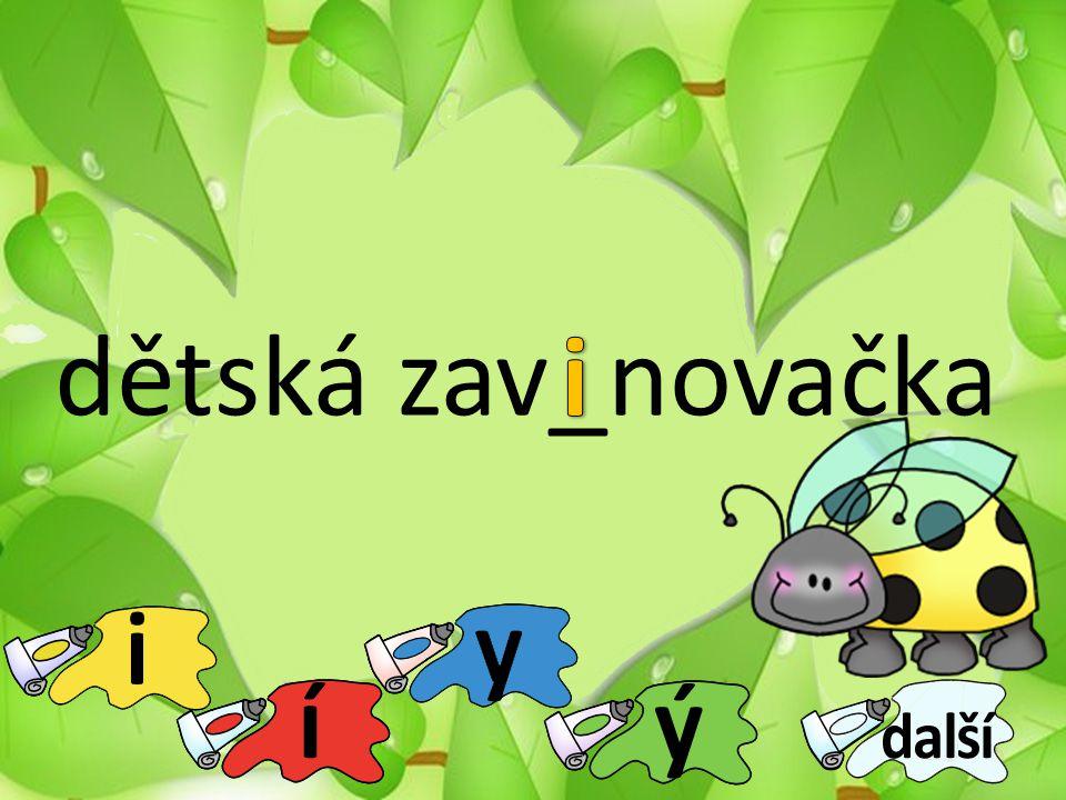 dětská zav_novačka