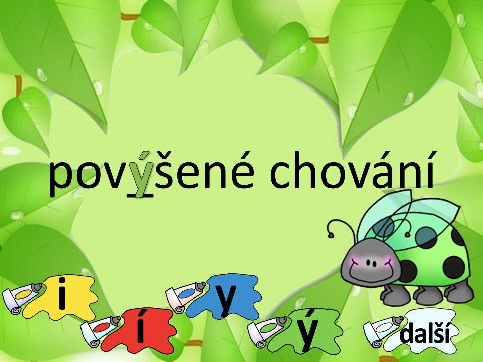 pov_šené chování