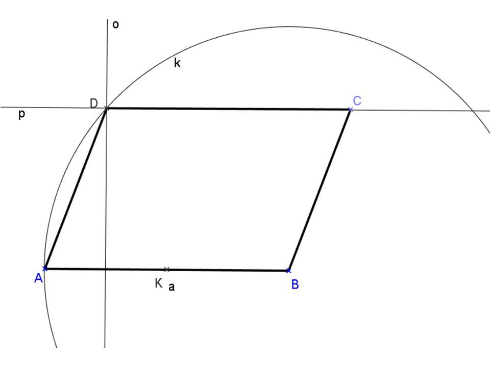 5) Uvnitř kratšího oblouku AB kružnice opsané rovnostrannému trojúhelniku ABC je zvolen bod D.