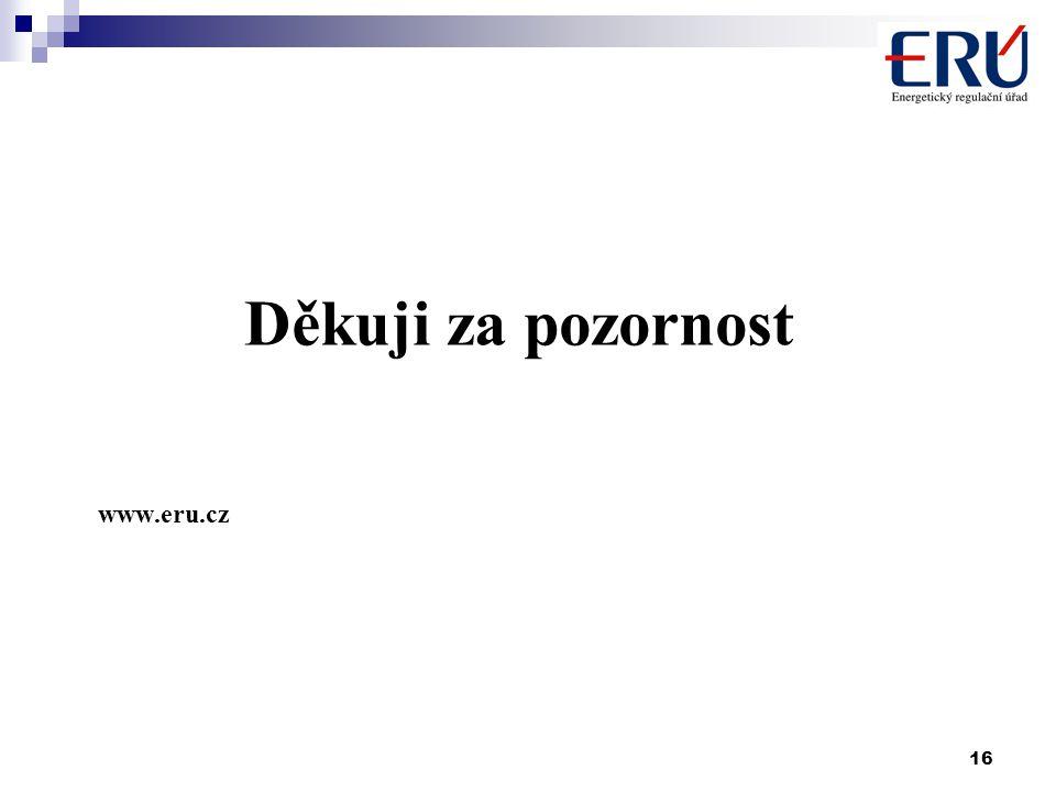 16 Děkuji za pozornost www.eru.cz