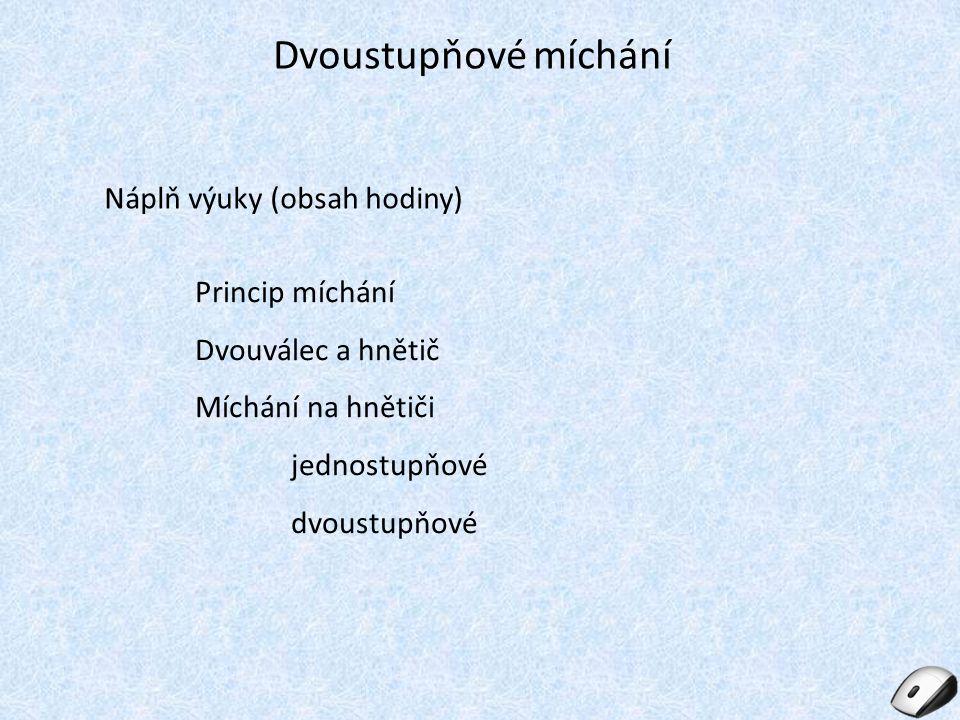 Seznam použité literatury: [1] Vašíček Emil, Gumárenská technologie 2, druhé vydání, učební texty SOŠ Otrokovice, 2011 [2] Otevřená encyklopedie Wikipedia, [vid.
