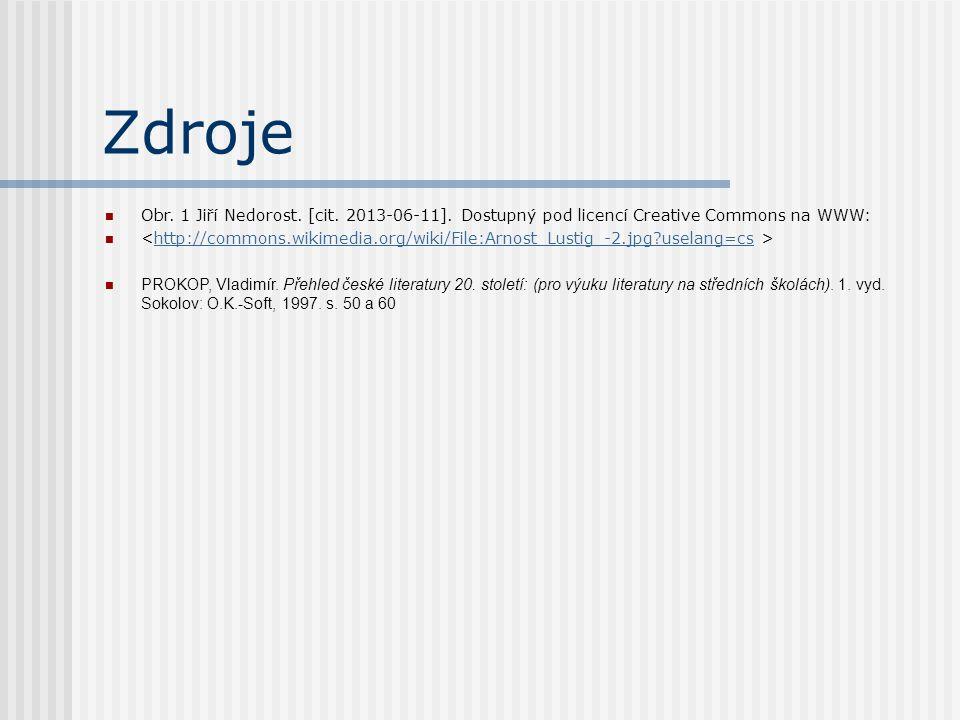 Zdroje Obr. 1 Jiří Nedorost. [cit. 2013-06-11].