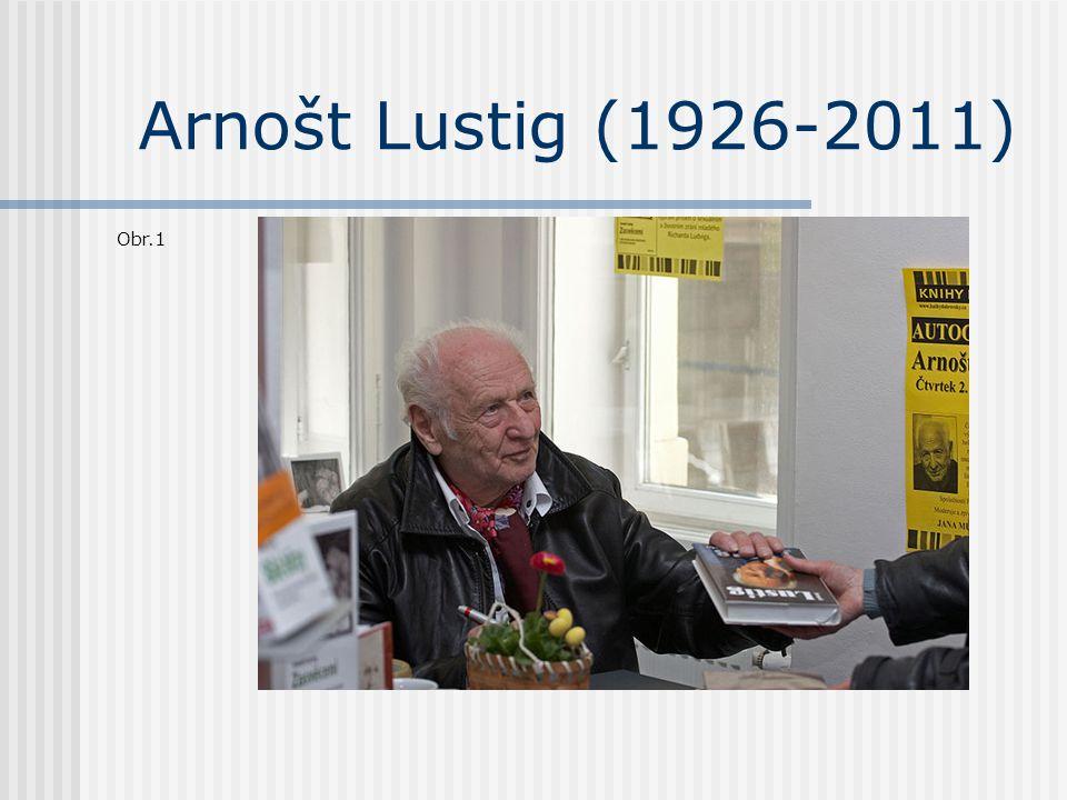 Arnošt Lustig (1926-2011) Obr.1