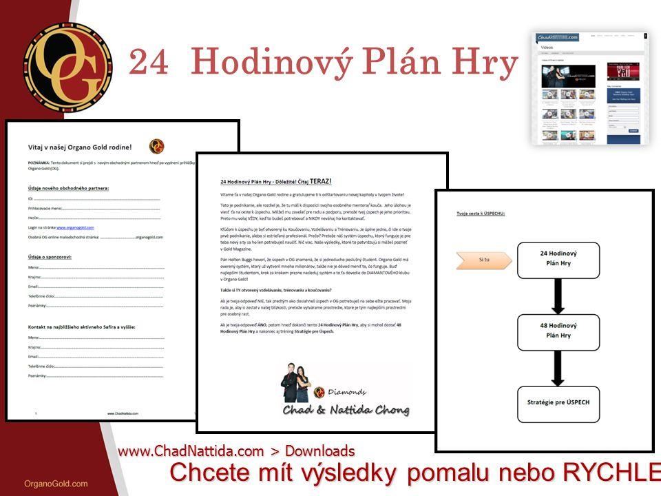 24 Hodinový Plán Hry Chcete mít výsledky pomalu nebo RYCHLE? www.ChadNattida.com > Downloads