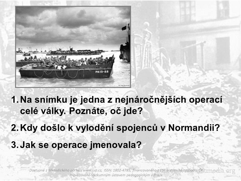 1.Na snímku je letoun Enola Gay. Víte, čím se zapsal do dějin? 2.Kdy došlo ke svržení bomby na Hirošimu? 3.Které další japonské město bylo podobně pos