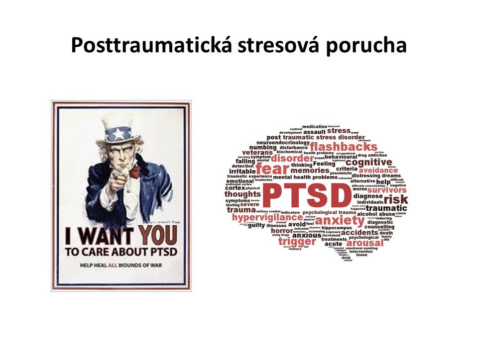 Posttraumatická stresová porucha