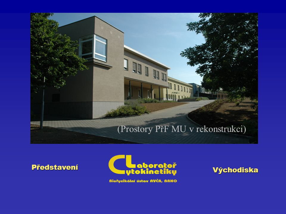 Představení Východiska (Prostory PřF MU v rekonstrukci)