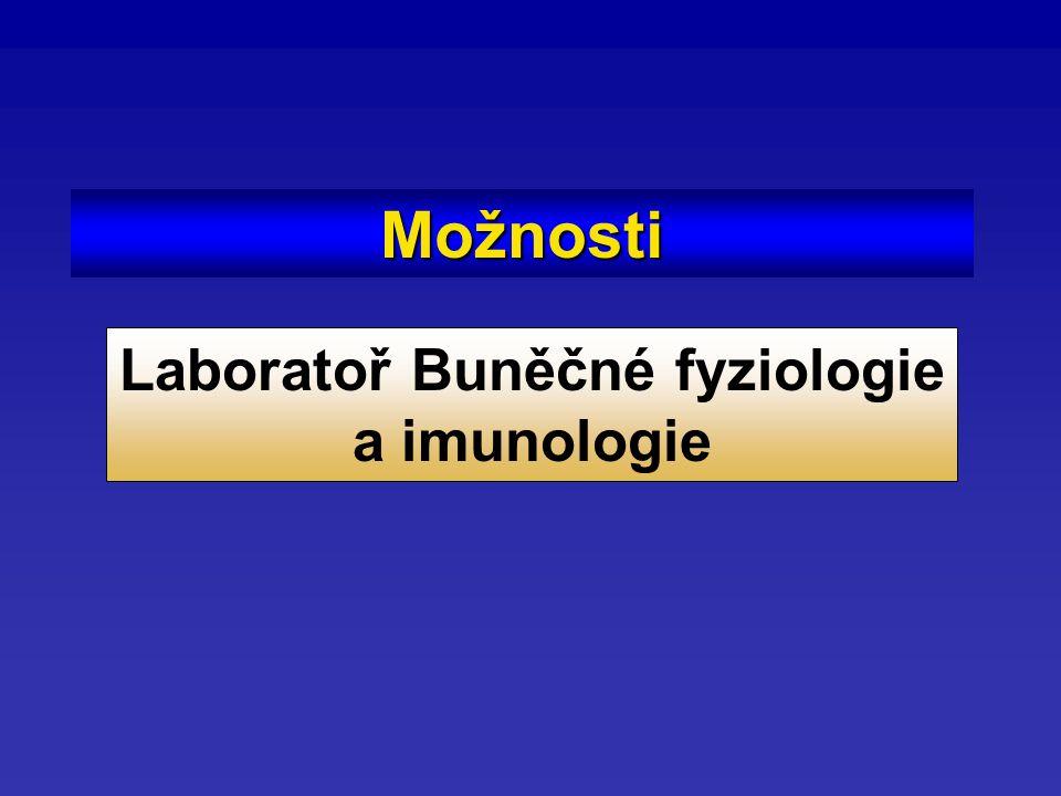 Možnosti Laboratoř Buněčné fyziologie a imunologie