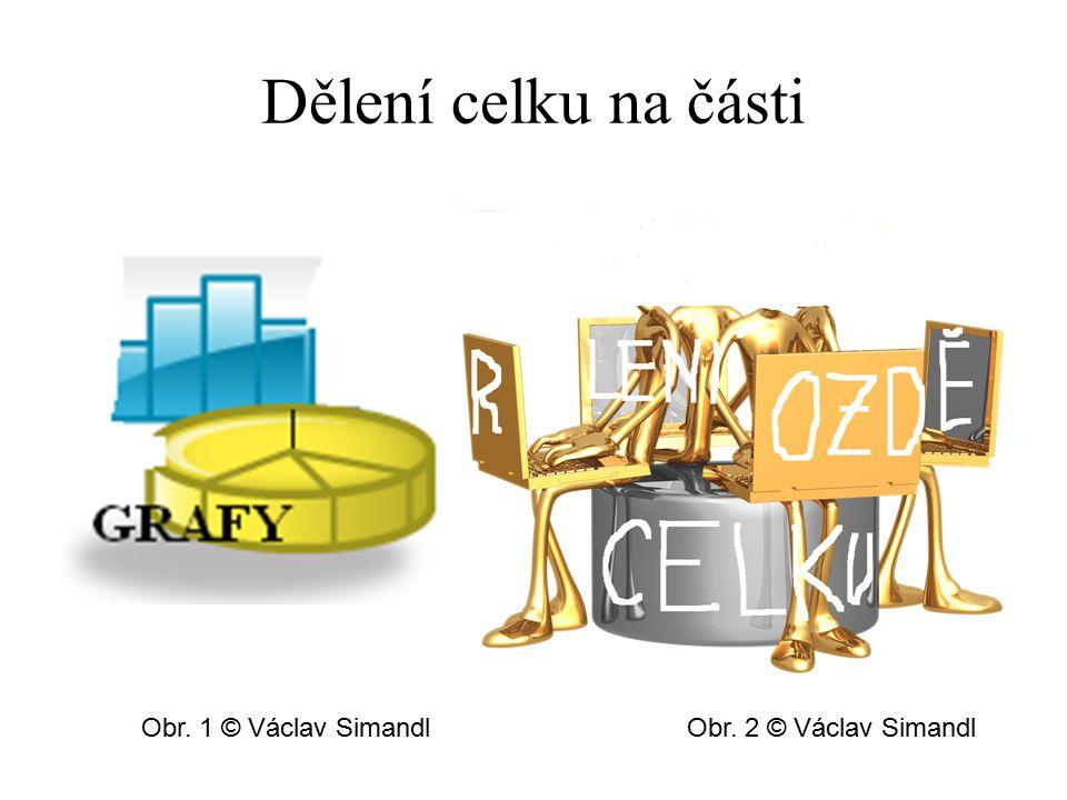 Dělení celku na části Obr. 1 © Václav SimandlObr. 2 © Václav Simandl