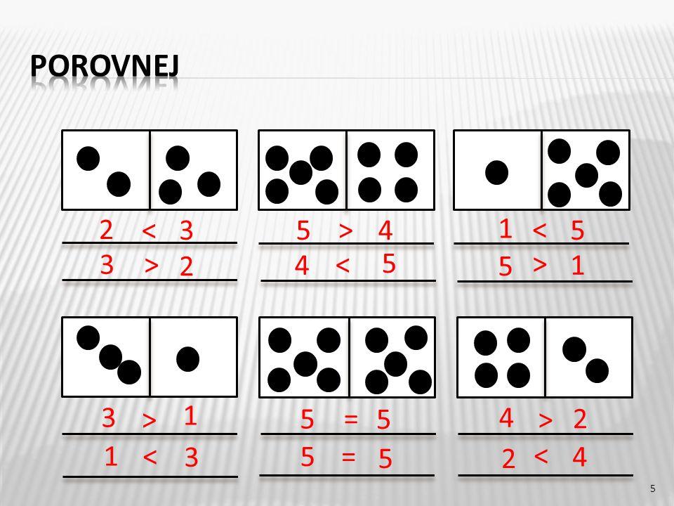 5 2 3 2 4 5 5 1 3 5 1 4 5< > = > < > 3 2 1 3 5 52 4 4 5 5 1 > <= < < >