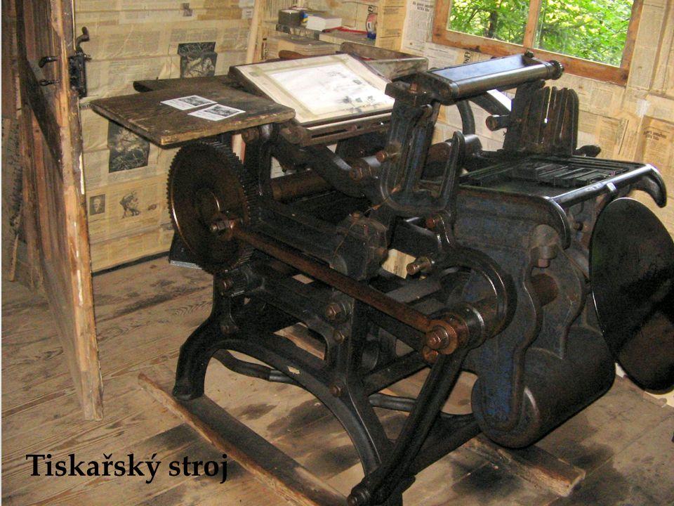 Tiskařský stroj