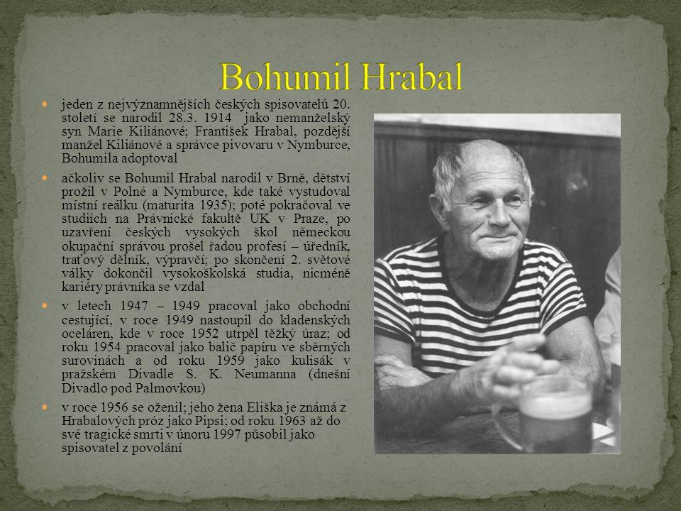 jeden z nejvýznamnějších českých spisovatelů 20.století se narodil 28.3.