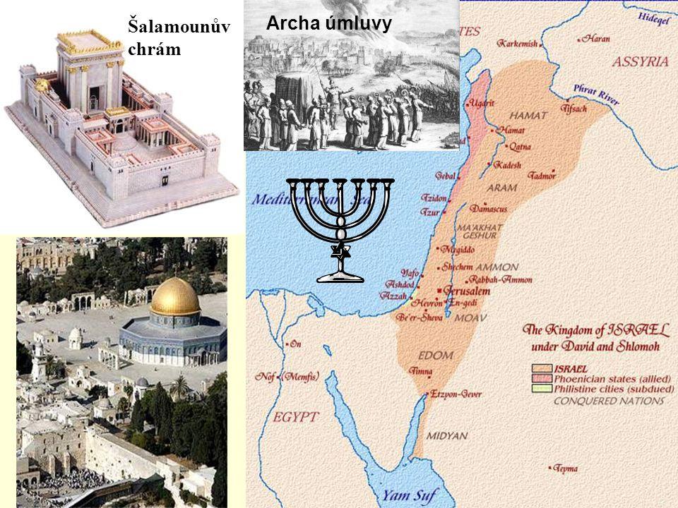 Šalamounův chrám Archa úmluvy