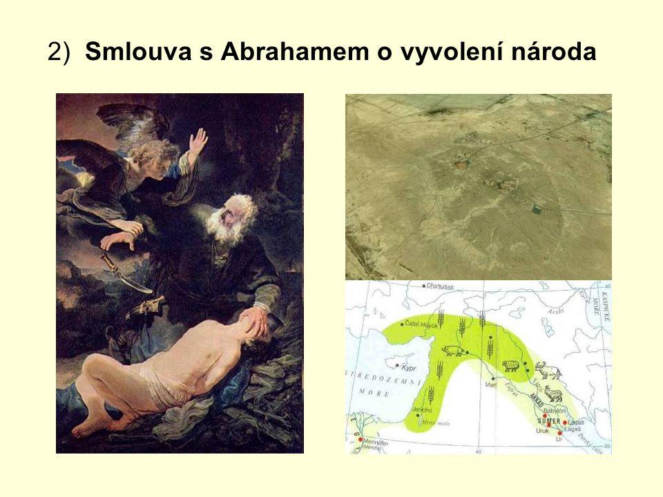 2) Smlouva s Abrahamem o vyvolení národa