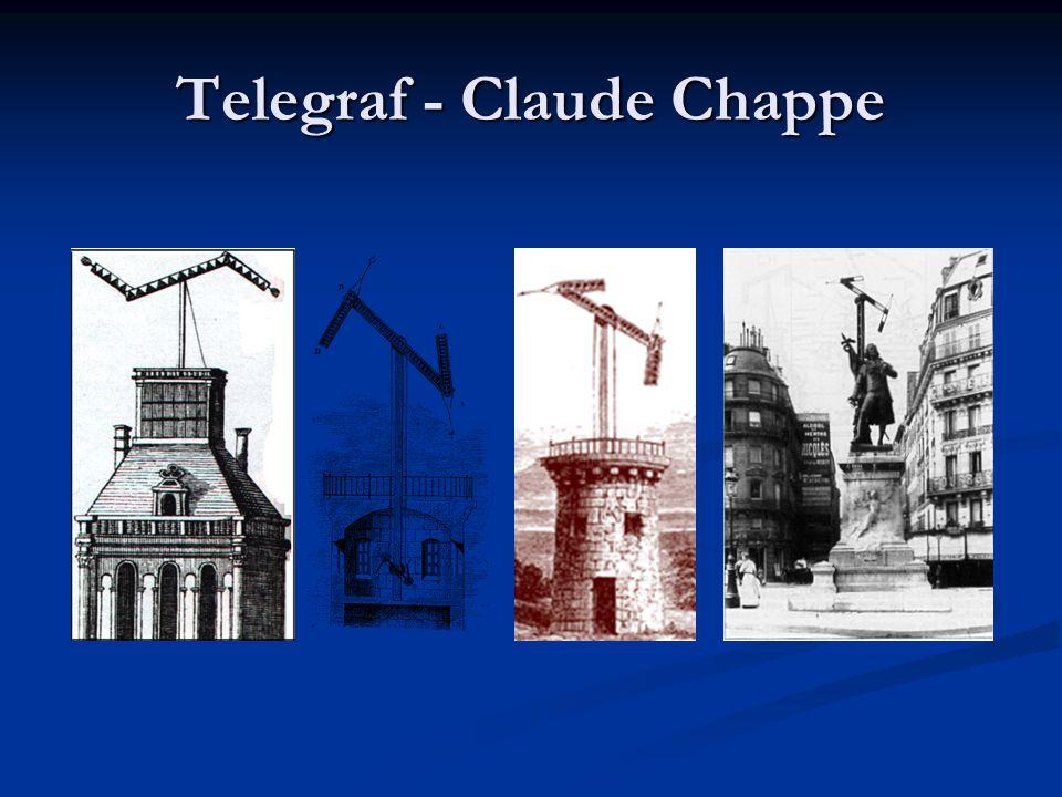 Telegraf - Claude Chappe