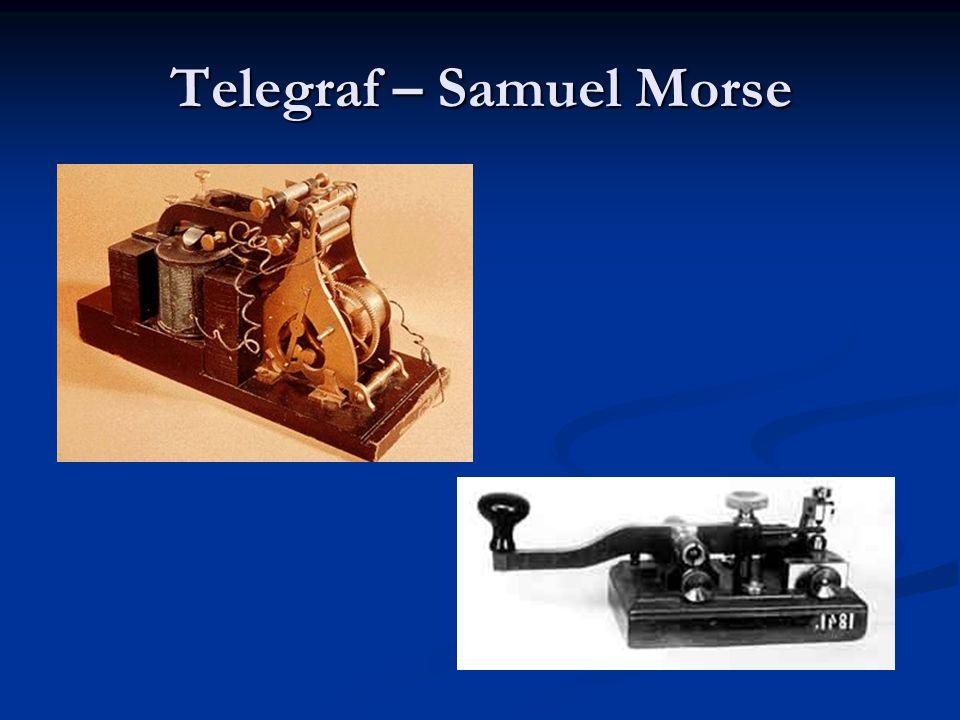 Telegraf – Samuel Morse