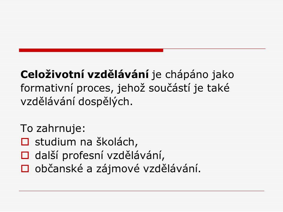 Univerzita třetího věku jako jedna z konkrétních forem celoživotního vzdělávání je zájmovým studiem občanů České republiky zejména seniorského věku.