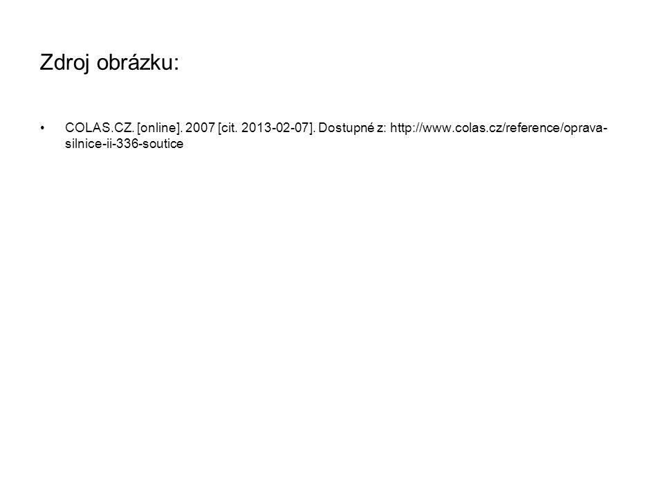 Zdroj obrázku: COLAS.CZ. [online]. 2007 [cit. 2013-02-07].