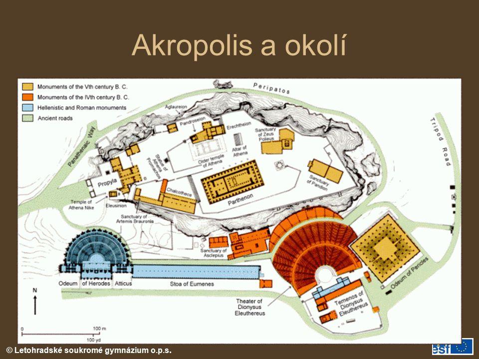 © Letohradské soukromé gymnázium o.p.s. Akropolis a okolí