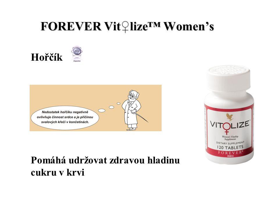 FOREVER Vit♀lize™ Women's FOREVER Vit♀lize™ Women's Hořčík Pomáhá udržovat zdravou hladinu cukru v krvi