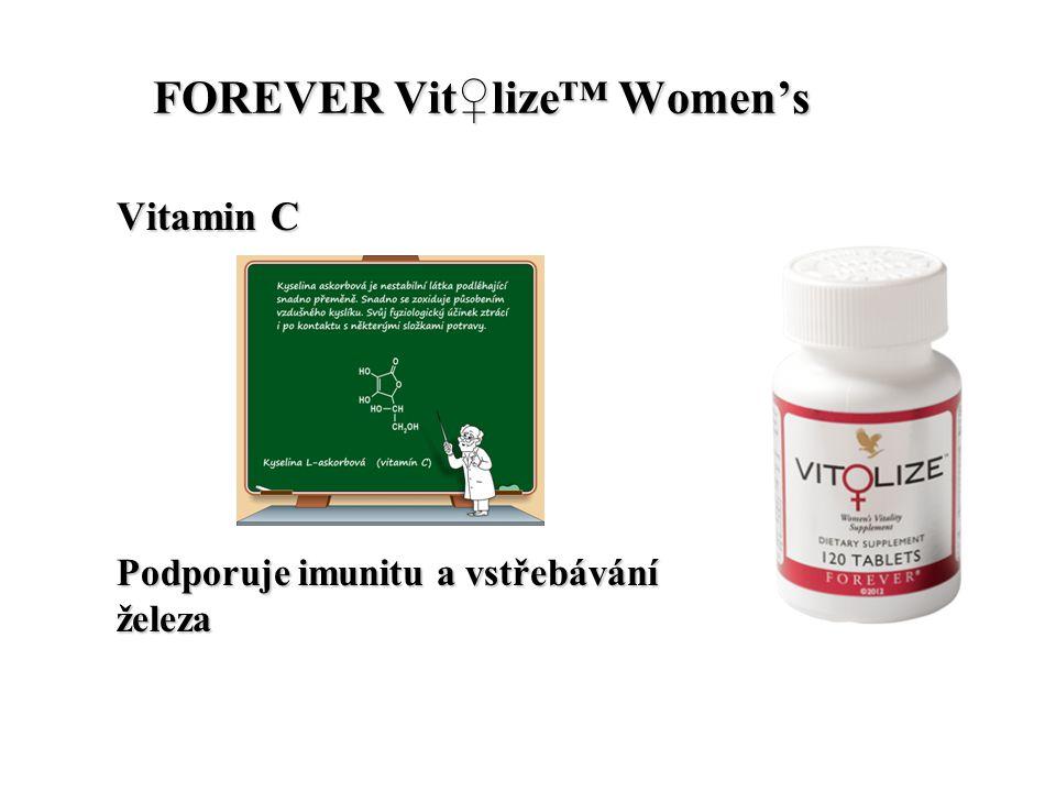 FOREVER Vit♀lize™ Women's FOREVER Vit♀lize™ Women's Vitamin C Podporuje imunitu a vstřebávání železa