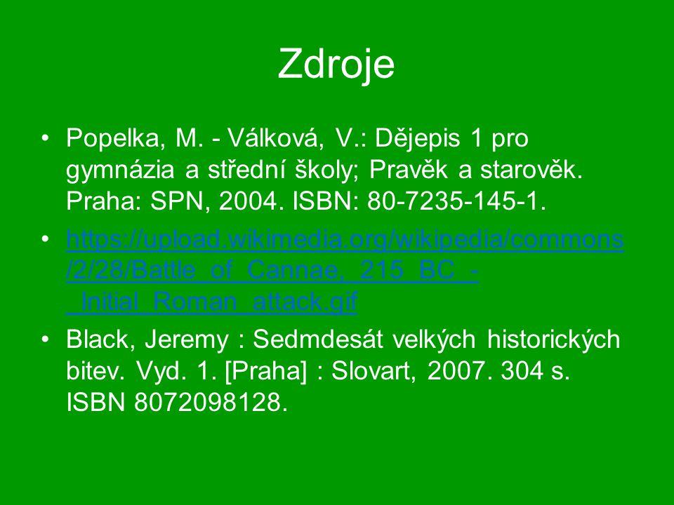 Zdroje Popelka, M. - Válková, V.: Dějepis 1 pro gymnázia a střední školy; Pravěk a starověk. Praha: SPN, 2004. ISBN: 80-7235-145-1. https://upload.wik