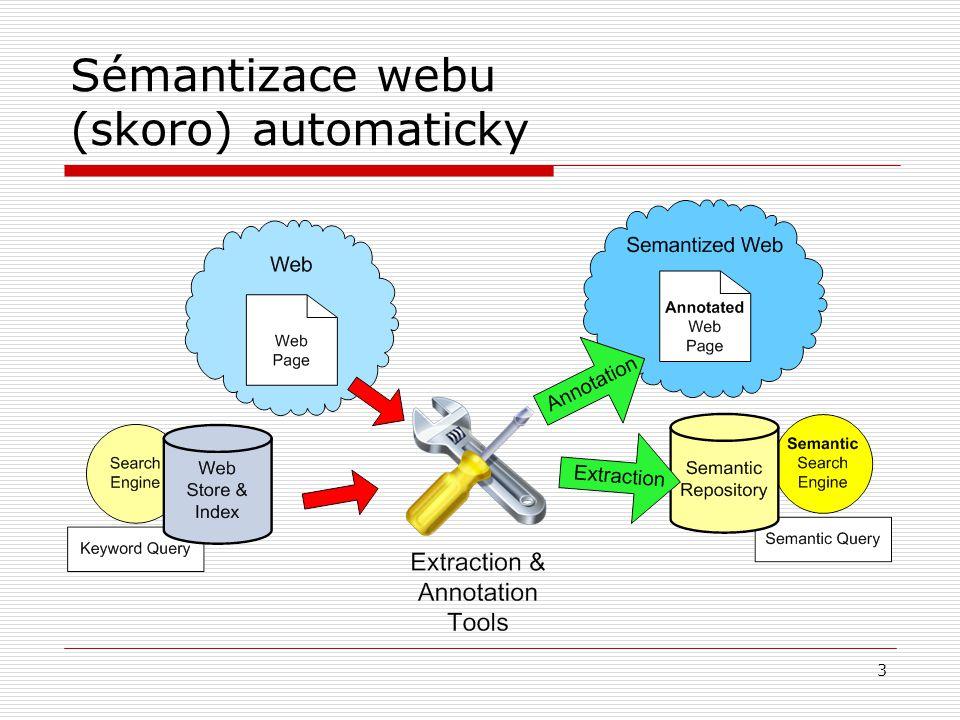 4 Extrakce pomocí struktury  HTML wrapping  Regulární výrazy  Ruční návrh pravidel  Trénované  Chytré GUI