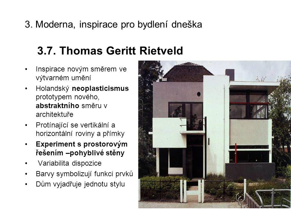 Thomas Geritt Rietveld: Schrödrova vila v Utrechtu, 1924