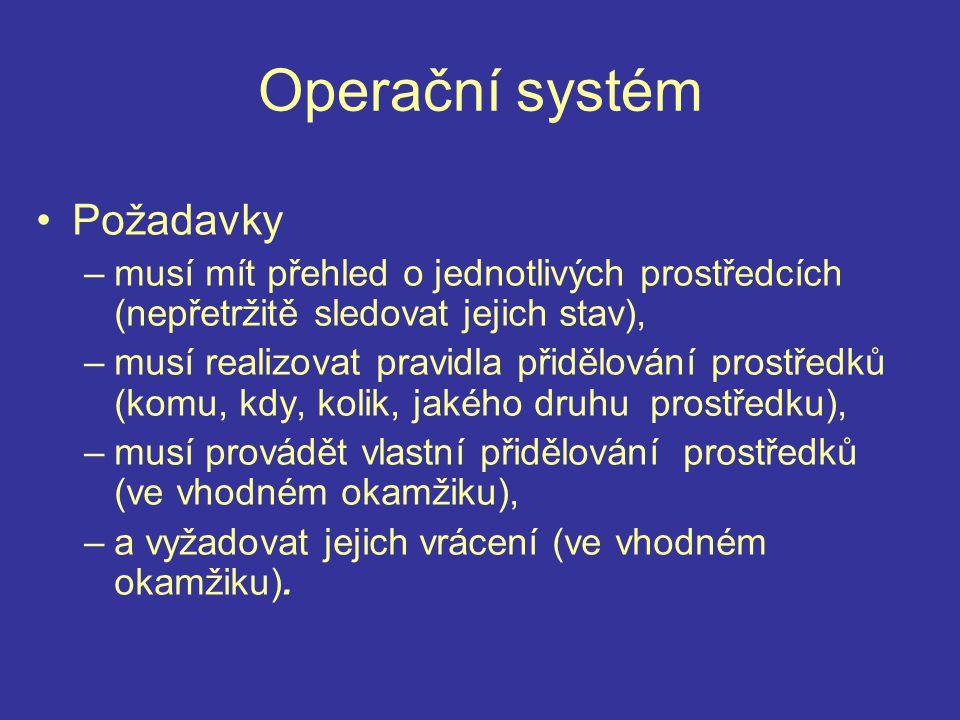 UNIX - principy práce shell - spouští další programy shell - spouští další programy terminál - připojování ke vzdáleným počítačům terminál - připojování ke vzdáleným počítačům