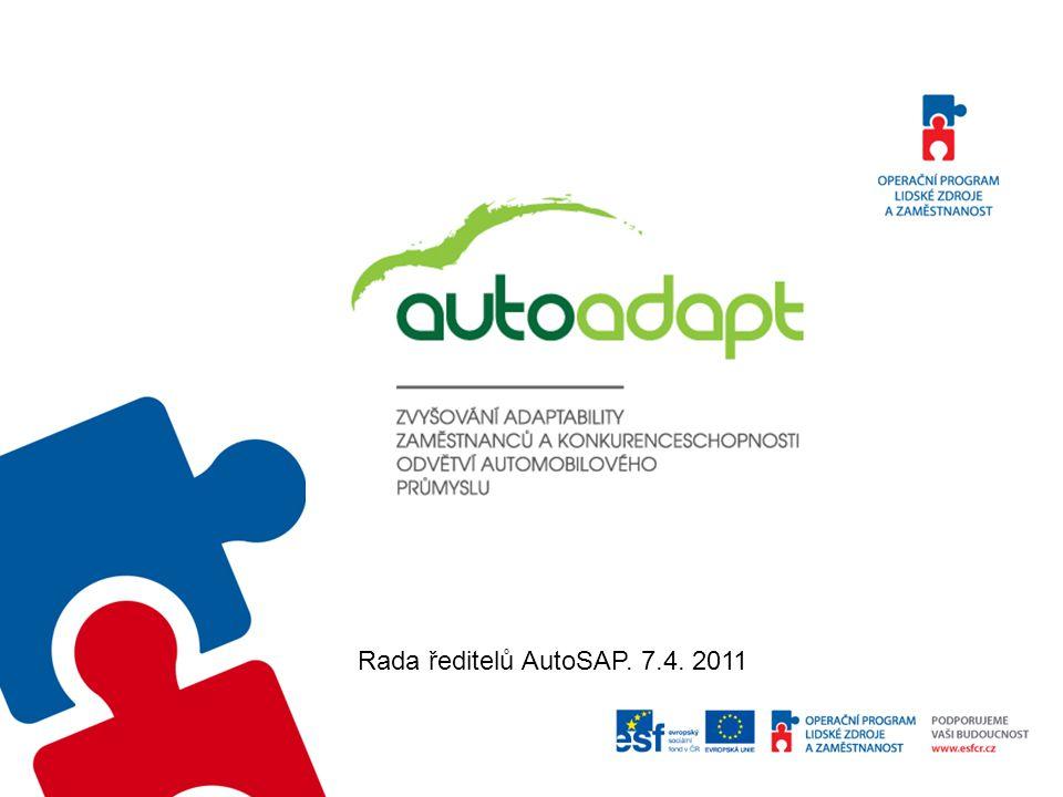 Rada ředitelů AutoSAP. 7.4. 2011