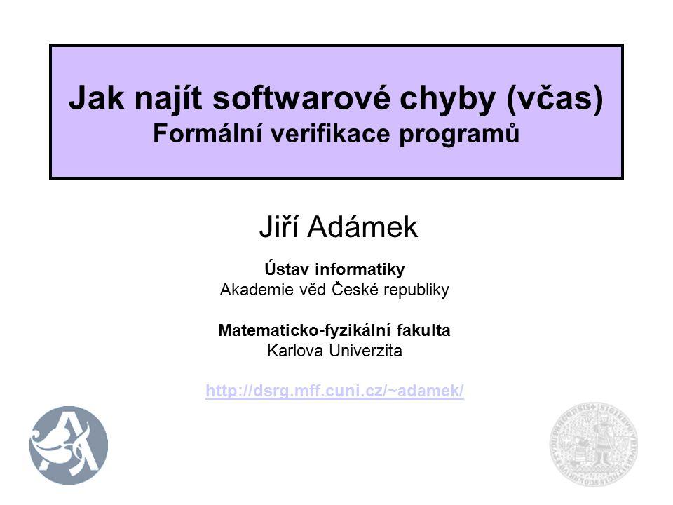 2 Zajímavé softwarové chyby (1) 23.