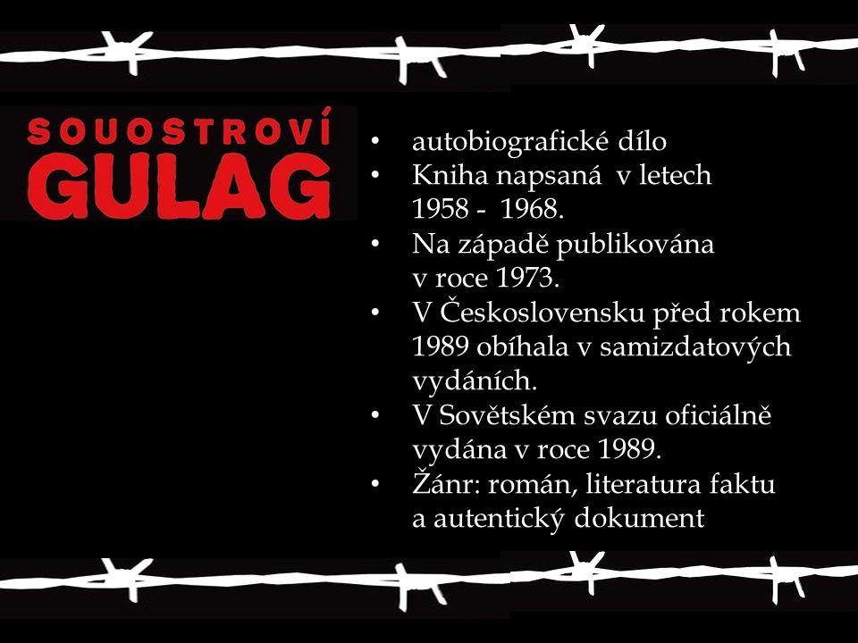autobiografické dílo Kniha napsaná v letech 1958 - 1968. Na západě publikována v roce 1973. V Československu před rokem 1989 obíhala v samizdatových v