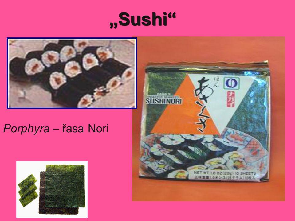 """""""Sushi"""" Porphyra – řasa Nori"""