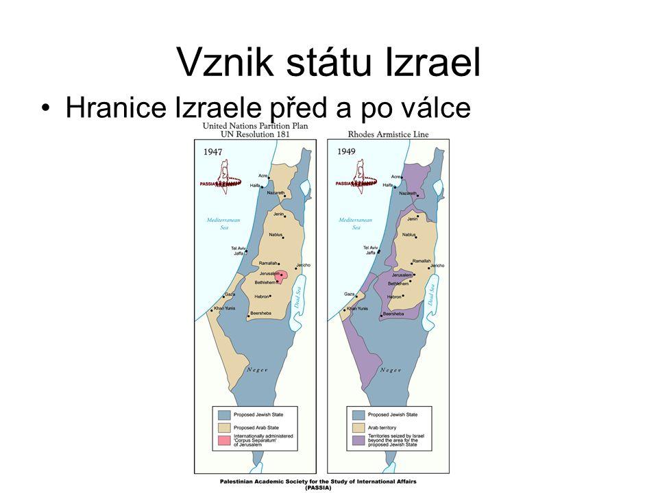 Období 1949 - 1967 Toto období bylo ve znamení suezské krize 1956, kdy egyptský prezident Násir znárodnil Suezský průplav Na to reagovali vojenskou akcí společně Velká Británie, Francie a Izrael a Suez dobyli zpět Od konce 1.