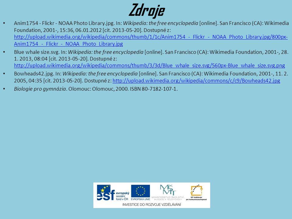Zdroje Dolphin 3 clip art. Www.clker.com [online]. Tuesday, 13-Nov-07 12:24:34 PST [cit. 2013-05-20]. Dostupné z: http://www.clker.com/cliparts/5/4/0/