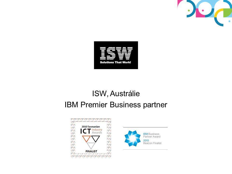 ISW, Austrálie IBM Premier Business partner
