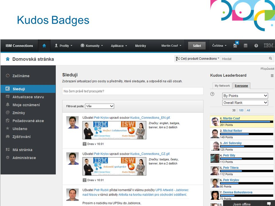 Kudos Badges Whitesoft © 2013