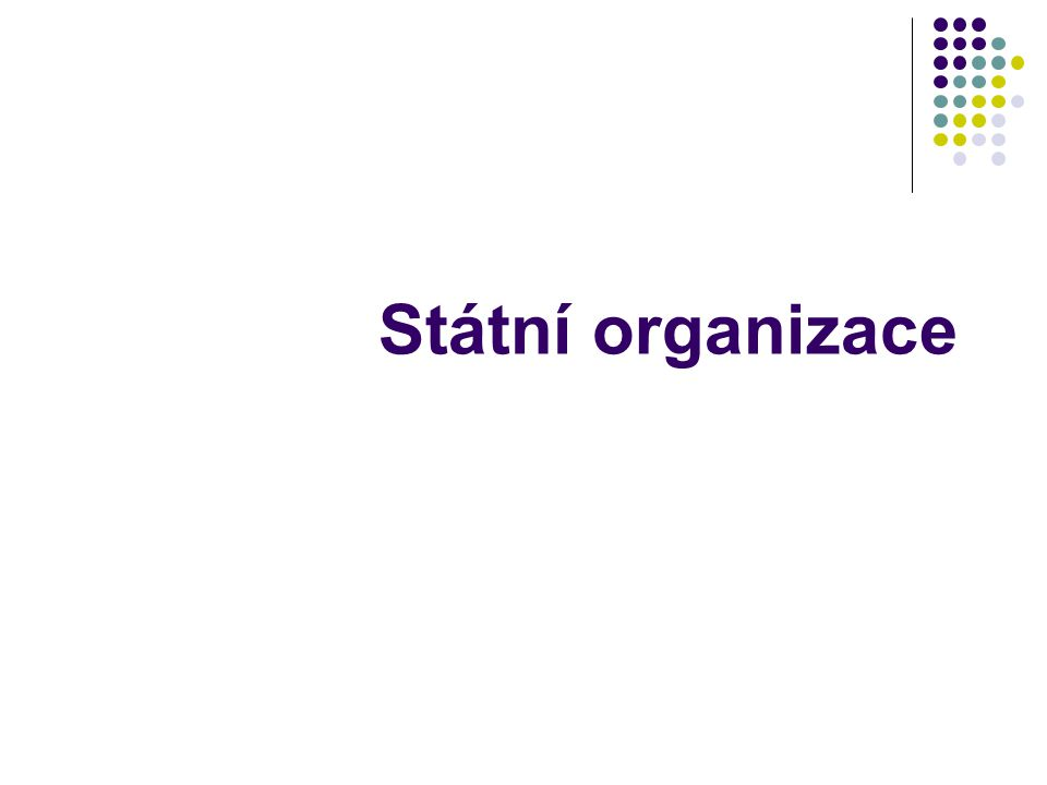 Státní organizace