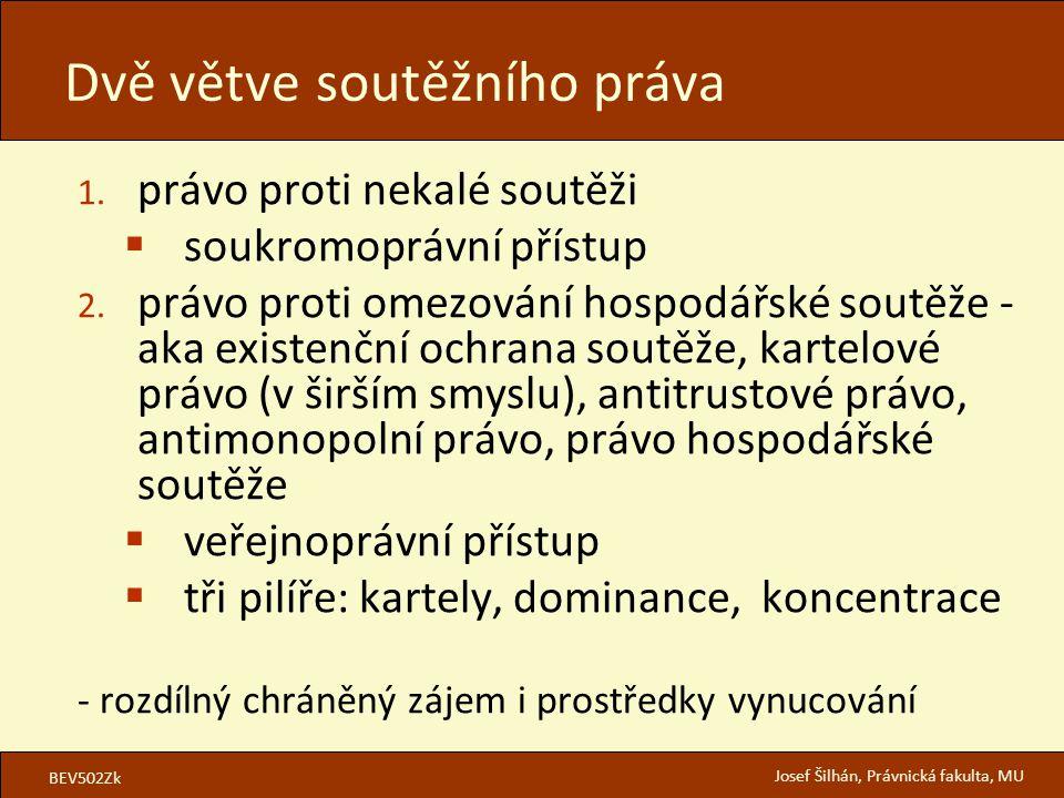 BEV502Zk Josef Šilhán, Právnická fakulta, MU 1.