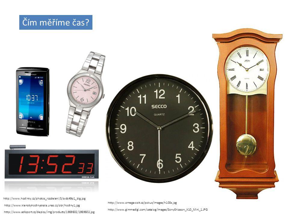 Srovnej jednotky času od nejkratší po nejdelší. sekundaminuta hodina dentýdenměsícrok