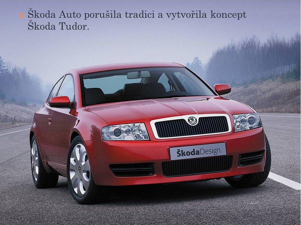 Škoda Auto porušila tradici a vytvořila koncept Škoda Tudor.