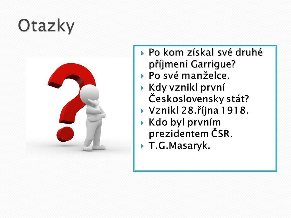  Po válce Dne 21. prosince 1918 se Masaryk vrátil triumfálně do Prahy. Jel přes republiku vlakem a dělal časté zastávky na kterých ho lidé nadšeně ví
