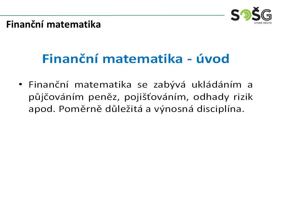 Finanční matematika