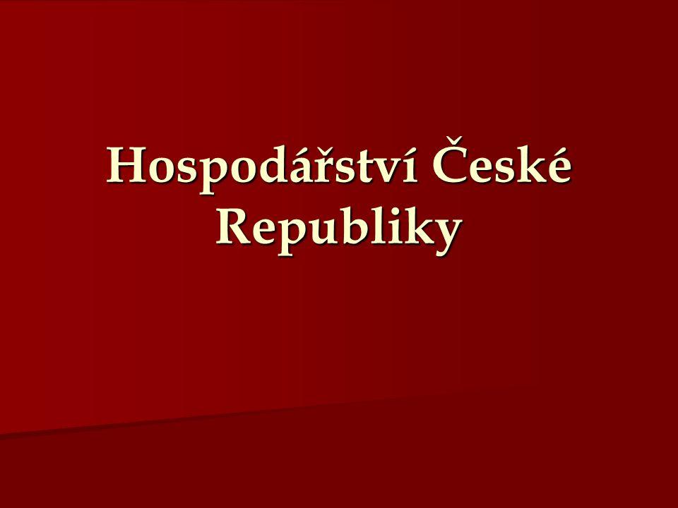 Hospodářství České Republiky