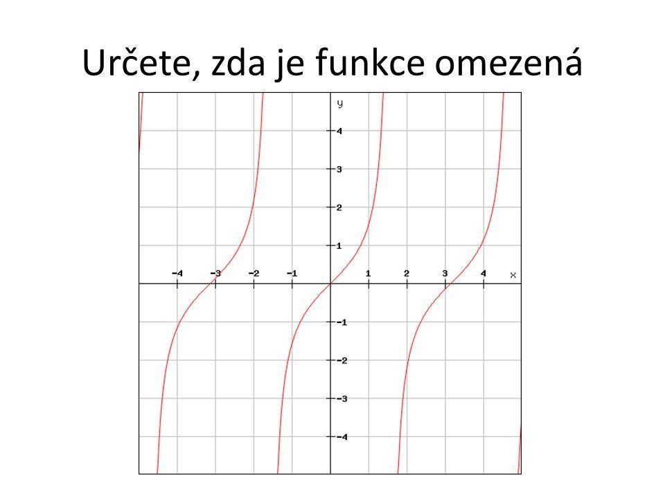 Definice Funkce f má v bodě a maximum, právě když pro všechna x  D(f) platí f(x)≤f(a).