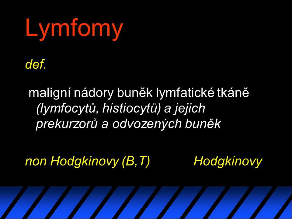 Lymfomy def.