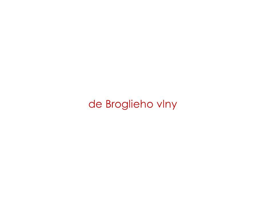 de Broglieho vlny