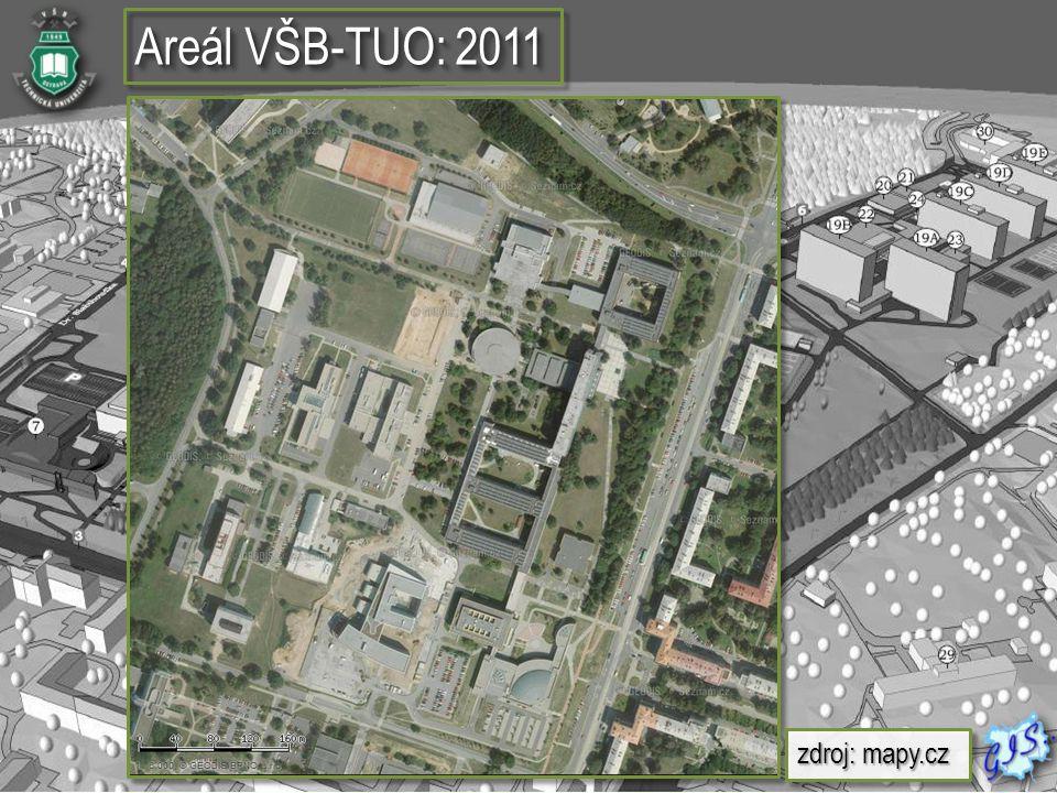 Rozčlenění jednotlivých pater  Vektorová vrstva budov VŠB- TUO  Plán jednotlivých místností  Vektorová vrstva budov VŠB- TUO  Plán jednotlivých místností