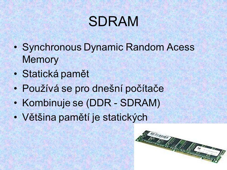 SDR Malé frekvence Předchůdce DDR max. 512 MB Dnes se nepoužívají